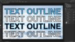 How to Outline Texts in Photoshop without Hassle