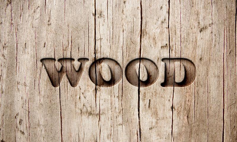 Wood and grass text photoshop tutorial | psddude.